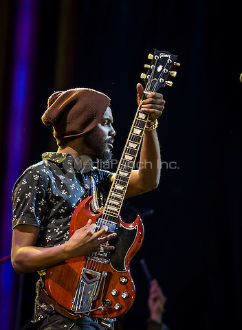 LAS VEGAS, NV - May 8: Gary Clark Jr.  pictured at Rock In Rio in Las Vegas, NV on May 8, 2015. Credit: Erik Kabik Photography/MediaPunch
