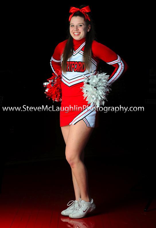 University of Hartford Cheerleaders.