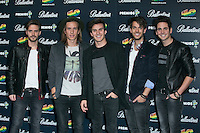 DVICIO attend the 40 Principales Awards at Barclaycard Center in Madrid, Spain. December 12, 2014. (ALTERPHOTOS/Carlos Dafonte) /NortePhoto