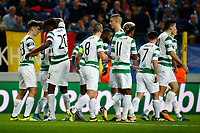ANDERLECHT, BELGIUM - SEPTEMBER 27 : Leigh Griffiths forward of Celtic FC scores and celebrates  during the Champions League Group B  match between RSC Anderlecht and Celtic FC on September 27, 2017 in Anderlecht, Belgium, 27/09/2017 <br /> Foto Photonews/Panoramic