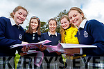 Laura Divane, Kelly Flannery, Sadbh Kilgallon, Ciara Boyd and Rebecca Poultney, Presentation Secondary School, Tralee, Leaving Certificate students pictured after completing English Paper 1 on Wednesday morning last.