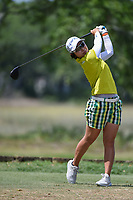 Mamiko Higa (JPN) watches her tee shot on 5 during round 3 of the 2019 US Women's Open, Charleston Country Club, Charleston, South Carolina,  USA. 6/1/2019.<br /> Picture: Golffile | Ken Murray<br /> <br /> All photo usage must carry mandatory copyright credit (© Golffile | Ken Murray)