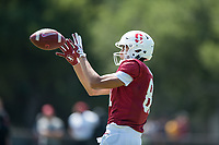 Stanford Football Practice, August 12, 2018