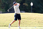31 October 2016: UNCG's Josh Stockwell. The Third Round of the 2016 Bridgestone Golf Collegiate NCAA Men's Golf Tournament hosted by the University of North Carolina Greensboro Spartans was held on the West Course at the Grandover Resort in Greensboro, North Carolina.