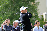 Graeme Storm (ENG) tees off on the 1st tee to start the Final Day of the BMW PGA Championship Championship at, Wentworth Club, Surrey, England, 29th May 2011. (Photo Eoin Clarke/Golffile 2011)