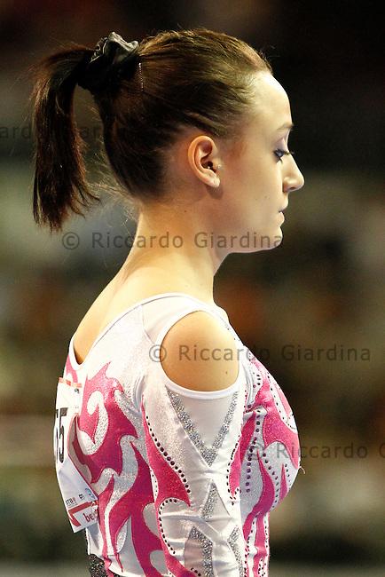 Elisabetta PREZIOSA  (ITA) - Bronze medal (beam exercise) at the 2011 European Championships Artistics Gymnastic in Berlin.