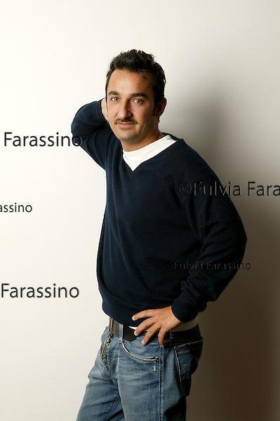 Nicola Savino.Milano, 21 aprile 2005