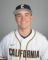 BERKELEY, CA - October 14, 2016: Matt Ruff Cal Baseball Portraits