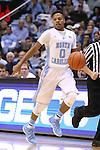 16 November 2014: North Carolina's Nate Britt. The University of North Carolina Tar Heels played the Robert Morris University Colonials in an NCAA Division I Men's basketball game at the Dean E. Smith Center in Chapel Hill, North Carolina. UNC won the game 103-59.