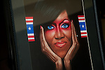 Silent Aution - Michelle Obama framed art.