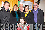 FAMILY: Family from Abbeydorney and Ballyheigue met up at Abbeydoprney Complex, on New Years Eve to bring in 2011 on Saturday night 31st December 2011, Front Shannon Lyne. Back l-r: Robert lyne, Bebra,Donal and Stephanie Sheehan and Eddie Harty.....