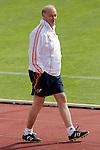 MADRID (25/05/09).- The Spanish Soccer national training session.  Vicente del Bosque, coach...PHOTO: Cesar Cebolla / ALFAQUI