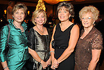 From left: Susan Lowe, Diana Johnson, Lisa Rhodes and Delores Stanberry at the JDRF Promise Ball at the Hilton Americas Hotel Saturday May 22,2010.  (Dave Rossman Photo)