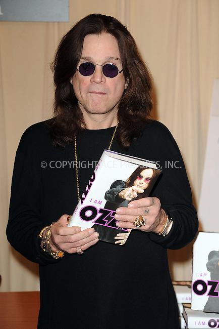 WWW.ACEPIXS.COM . . . . . ....January 25 2010, New York City....Ozzy Osbourne signed copies of his book 'I Am Ozzy' at Barnes & Noble 5th Avenue on January 25 2010 in New York City.....Please byline: KRISTIN CALLAHAN - ACEPIXS.COM.. . . . . . ..Ace Pictures, Inc:  ..(212) 243-8787 or (646) 679 0430..e-mail: picturedesk@acepixs.com..web: http://www.acepixs.com