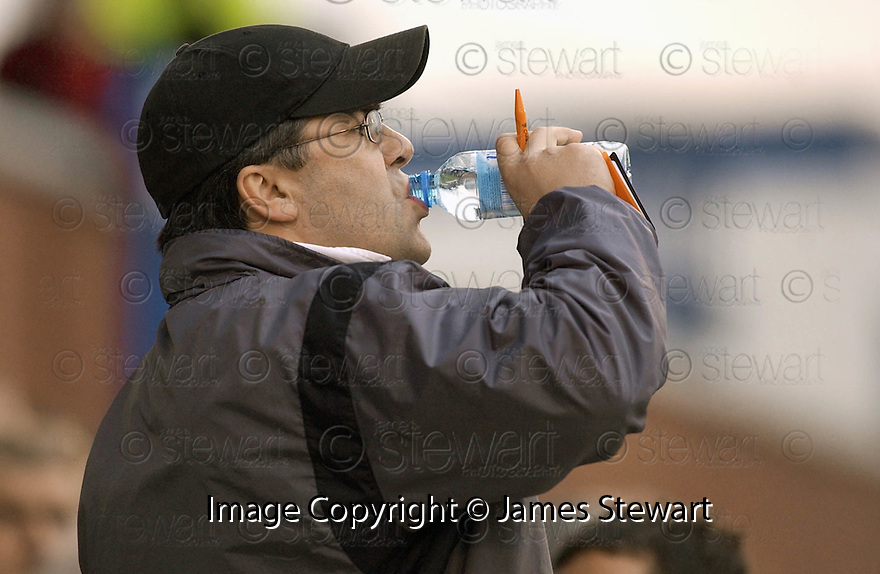 05/02/2005  Copyright Pic : James Stewart.File Name : jspa19_qots_v_dundee_utd.DUNDEE UTD MANAGER IAN MCCALL DURING THE SCOTTISH CUP 4TH ROUND CLASH AGAINST QUEEN OF THE SOUTH...Payments to :.James Stewart Photo Agency 19 Carronlea Drive, Falkirk. FK2 8DN      Vat Reg No. 607 6932 25.Office     : +44 (0)1324 570906     .Mobile   : +44 (0)7721 416997.Fax         : +44 (0)1324 570906.E-mail  :  jim@jspa.co.uk.If you require further information then contact Jim Stewart on any of the numbers above.........A