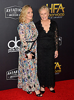 LOS ANGELES, CA. November 04, 2018: Glenn Close & Annie Starke at the 22nd Annual Hollywood Film Awards at the Beverly Hilton Hotel.<br /> Picture: Paul Smith/Featureflash