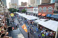 The Pecan Street Festival is the common name for the Old Pecan Street Spring and Fall Arts Festival, a free, bi-annual juried fine art and arts and crafts festival held on 6th Street in Austin, Texas.<br />