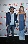 Chris Knight and Keltie Knight arrive at Heidi Klum's 18th Annual Halloween Party presented by Party City and SVEDKA Vodka at Magic Hour Rooftop Bar & Lounge at Moxy Times Square, on October 31, 2017.