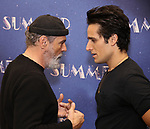 "Bruce Sudano and Jared Zirilli attends the Meet & Greet for ""Summer: The Donna Summer Musical"" on March 8, 2018 at the New 42nd Street Studios,  in New York City."