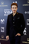 Victor Clavijo attends to 'Como la Vida Misma' film premiere during the 'Madrid Premiere Week' at Callao City Lights cinema in Madrid, Spain. November 12, 2018. (ALTERPHOTOS/A. Perez Meca)