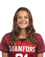 STANFORD, CA - August 16, 2019: Phoebe Crosthwaite on Field Hockey Photo Day.