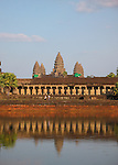 Angkor Wat Refection, Cambodia - Main Site