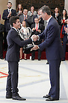 Rey Felipe Award to Marc Marquez, the Spanish athlete who have most distinguished themselves during the year as a sports performance, both nationally and internationally. November 17, 2015(ALTERPHOTOS/Acero)
