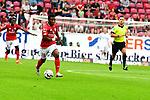 Am Ball der Mainzer Abass Issah<br /> <br /> <br />  beim Spiel in der Fussball Bundesliga, 1. FSV Mainz 05 - Hertha BSC.<br /> <br /> Foto &copy; PIX-Sportfotos *** Foto ist honorarpflichtig! *** Auf Anfrage in hoeherer Qualitaet/Aufloesung. Belegexemplar erbeten. Veroeffentlichung ausschliesslich fuer journalistisch-publizistische Zwecke. For editorial use only.