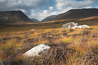 Glen Dee with Ben MacDui in the background, Scottish Highlands, Uk