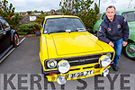 Dan Buckley from Castlegreogary with his 1978 Ford Escort at the Threshing Festival in Blennerville on Sunday