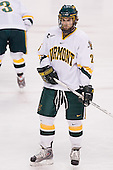 Brett Leonard (Vermont - 26) - The Boston College Eagles defeated the University of Vermont Catamounts 4-0 in the Hockey East championship game on Saturday, March 22, 2008, at TD BankNorth Garden in Boston, Massachusetts.