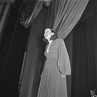 Lucienne Boyer in Amsterdam City Theater, Nov 30, 1945