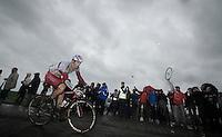 Alexander Porsev (RUS/Katusha)<br /> <br /> 2014 Tour de France<br /> stage 5: Ypres/Ieper (BEL) - Arenberg Porte du Hainaut (155km)