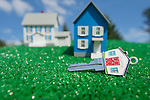 House Key with Model Houses