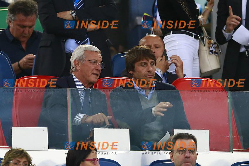 Marcello Lippi e Antonio Conte  <br /> Roma 21-05-2016 Stadio Olimpico.<br /> Football Calcio Finale Coppa Italia / Italy's Cup Final 2015/2016. Milan - Juventus<br /> Foto Cesare Purini / Insidefoto