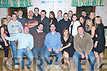 Key to the Door - John O'Connell from Causeway, seated centre having a ball with friends at his 21st birthday bash held in Harty's Bar & Restaurant, Causeway on Friday night...................................................................... ............   Copyright Kerry's Eye 2008