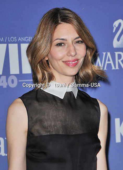 Sofia Coppola  at the Women In Film 2013-Crystal , Lucy Awards at the Beverly Hilton in Los Angeles.