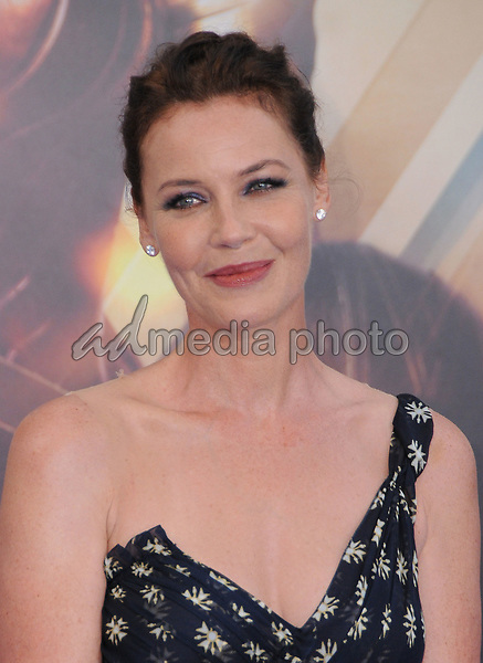 "25 May 2017 - Hollywood, California - Connie Nielsen. World  Premiere of Warner Bros. Pictures'  ""Wonder Woman"" held at The Pantages Theater in Hollywood. Photo Credit: Birdie Thompson/AdMedia"