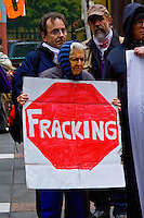 Anti Fracking Rally Chicago Illinois