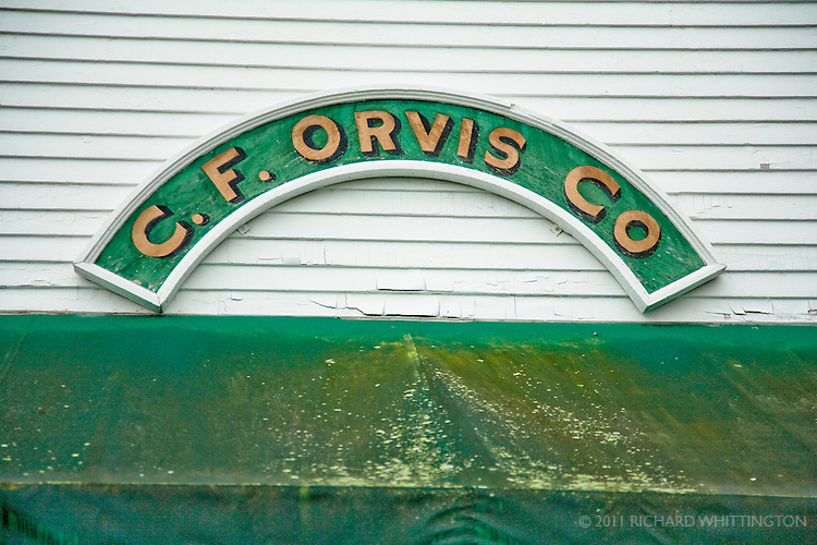 The Orvis Company, famous for fly fishing and outdoor equiptment, was founded in Manchester, Vermont in 1856.