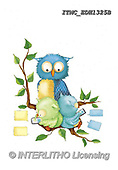 Marcello, CUTE ANIMALS, LUSTIGE TIERE, ANIMALITOS DIVERTIDOS, paintings+++++,ITMCEDH1325B,#AC#, EVERYDAY ,owls