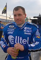 Feb 11, 2007; Daytona, FL, USA; Nascar Nextel Cup driver Ryan Newman (12) during qualifying for the Daytona 500 at Daytona International Speedway. Mandatory Credit: Mark J. Rebilas