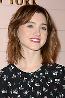 www.acepixs.com<br /> February 9, 2018  New York City<br /> <br /> Natalia Dyer attending the Kate Spade presentation, New York Fashion Week, on February 9, 2018 in New York City.<br /> <br /> Credit: Kristin Callahan/ACE Pictures<br /> <br /> <br /> Tel: 646 769 0430<br /> Email: info@acepixs.com