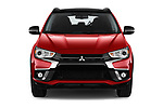 Car photography straight front view of a 2019 Mitsubishi ASX Black Collection 5 Door SUV