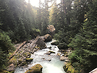 Courtesy photo<br /> A mountain stream on the Pacific Crest Trail.