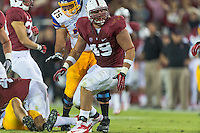 STANFORD, CA - AUGUST 31 2012: Ben Gardner during the Stanford Cardinal 20-17 win over San Jose State.