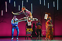 "World premiere of ""Wah! Wah! Girls"" , a British Bollywood musical, at the Peacock Theatre, London. A Sadler's Wells, Theatre Royal Stratford East & Kneehigh production, in association with Hall for Cornwall."