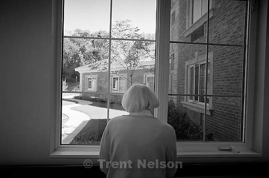 Betty Rae Watts, at her nursing home.<br />