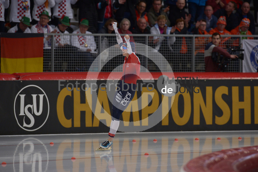 SPEEDSKATING: INZELL: Max Aicher Arena, 09-02-2019, ISU World Single Distances Speed Skating Championships, 5000m Ladies, Martina Sablikova (CZE), ©photo Martin de Jong