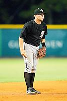 Bristol White Sox third baseman Steven Nikorak #5 on defense against the Burlington Royals at Burlington Athletic Park on July 6, 2012 in Burlington, North Carolina.  The Royals defeated the White Sox 5-2.  (Brian Westerholt/Four Seam Images)